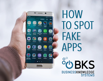how to spot fake apps